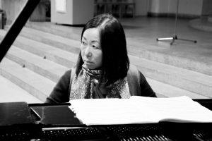 Jimin Oh-Havenith recording Bach´s Goldberg Variations