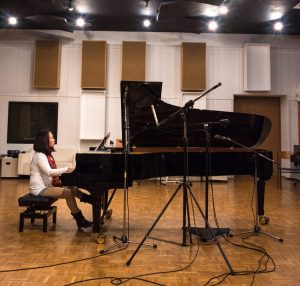 Jimin Oh-Havenith im Studio