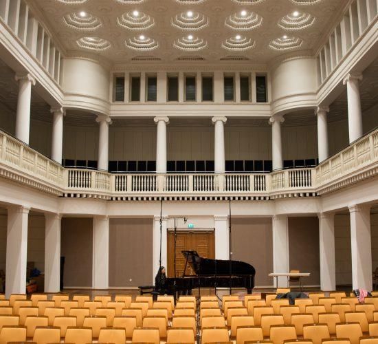 Jimin Oh-Havenith, CD-Aufnahme im Leibniz-Saal in Hannover, November 2018