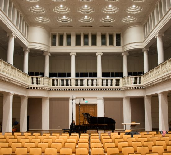 Jimin Oh-Havenith, CD-recording, Leibniz-Saal, Hannover, Nov. 2018